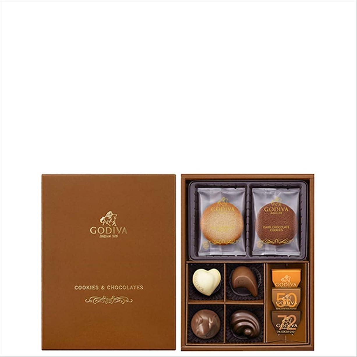 隠す無許可移動ゴディバ (GODIVA) クッキー&チョコレート アソートメント 4枚+7粒