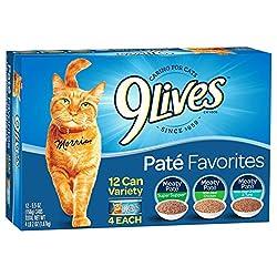 9Lives Pate Favorites