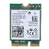 ASHATA Tarjeta de Red Bluetooth 5.0 Inalámbrica Banda Dual para Intel 9560NGW,Compatible con Samsung/DELL/Sony/Acer/ISUS/MSI/Clevo/Terransforce/Hasee, etc.