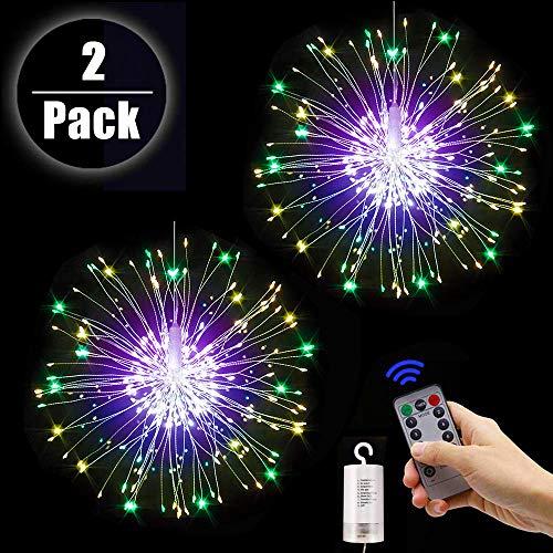 Fuegos artificiales Luces Cadena Luces LED Navidad