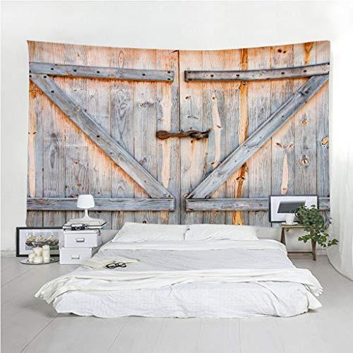 Fymm Shop Wandtapijt, 3D-print, moderne ideeën, voor houten deuren, draagbaar, licht, multifunctioneel, wandmontage 240(H)X260(An)Cm