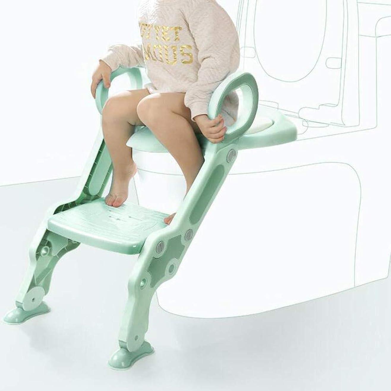 作るあごひげ分析的なKJRJMT トレーニングシート幼児用トイレシートトイレチェアで子供用滑り止めソフトクッショントイレラダー