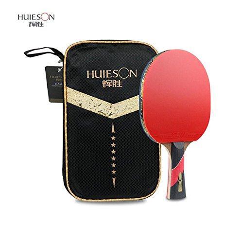 panda supermarket Raqueta de tenis de mesa de 6 estrellas de la casa del campeonato de la raqueta de tenis de mesa