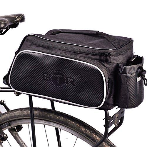 BTR fahrradtaschen gepäckträger. Fahrradtasche gepäckträger Tasche. Fahrradgepäckträgertaschen wasserdicht. Recycelbare Verpackung