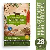 Rachael Ray Nutrish Premium Natural Dry Dog Food, Real Chicken &...