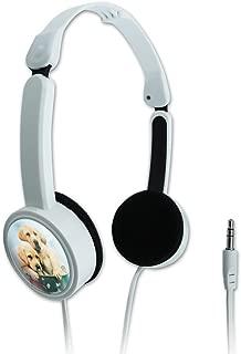 GRAPHICS & MORE Labrador Retriever Puppies Dogs Bath Bubbles Bucket Novelty Travel Portable On-Ear Foldable Headphones