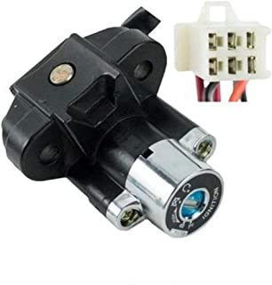 Ignition Key Switch - 6 Wire - Jonway YY250T Scooter by VMC CHINESE PARTS