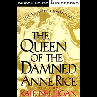 The Queen of the Damned audiobook cover art