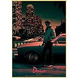 Drive Ryan Gosling Movie Poster Printed Wall Posters Art