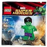 LEGO Super Heroes: Exclusivo Hulk Minifigura Establecer 5000022 (Bolsas)
