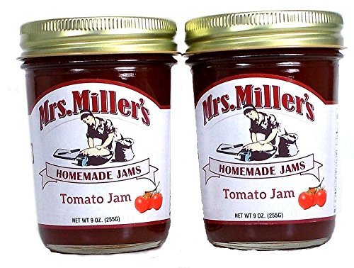 Mrs Millers Tomato Jam (Amish Made) ~ 2 / 9 Oz. Jars