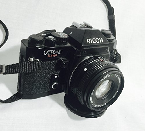 Vintage Ricoh KR-5 Super with Rikenon 1:2 50mm Lens