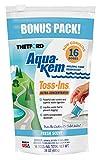 Thetford Aqua-KEM Fresh Scent Toss-Ins RV Holding Tank Treatment - Deodorant/Waste Digester/Detergent - Pack of 16 96561