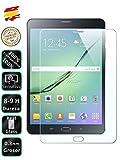 Movilrey Protector para Galaxy Tab S2 8 LTE 4G 8.0 Cristal Templado de Pantalla Vidrio 9H para Tablet