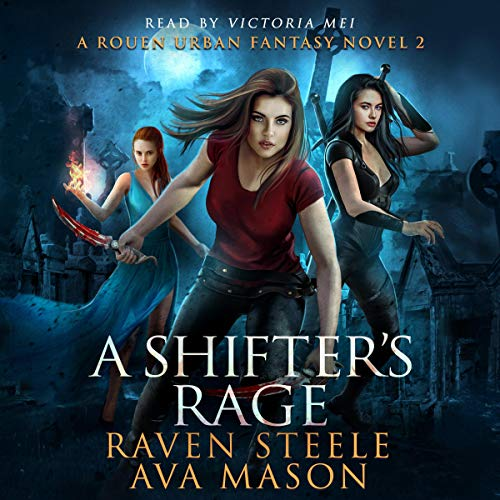 Couverture de A Shifter's Rage: A Gritty Urban Fantasy Novel