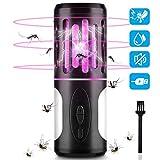 BASEIN Elektrischer UV Insektenvernichter, 2-IN-1 Mückenfalle mit Campinglampe und Taschenlampe,...