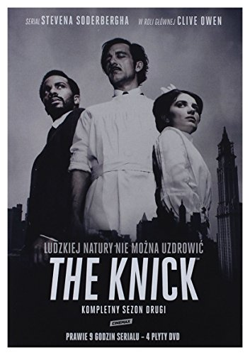 The Knick Season 2 [4DVD] [Region 2] (Deutsche Sprache. Deutsche Untertitel)