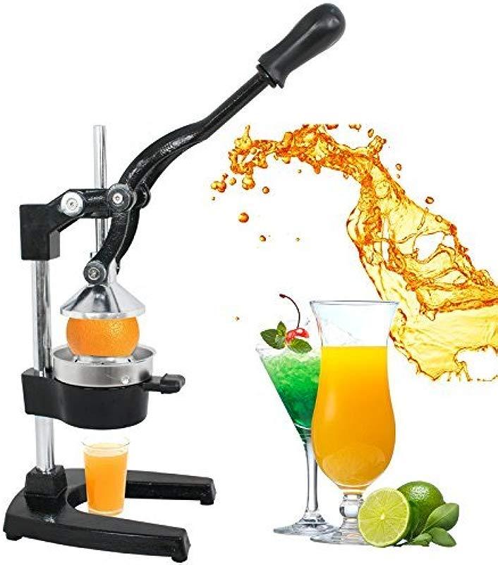 ZENY Manual Citrus Press Stand Juicer Commercial Metal Orange Lemon Lime Hand Press Squeezer