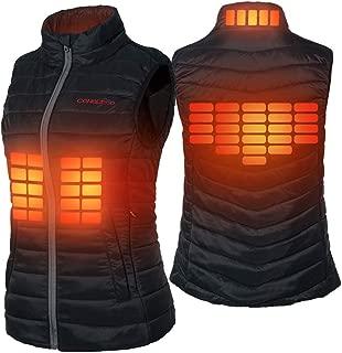 Women's Heated Vest Lightweight Slim Fit Gilet Coat in Winter