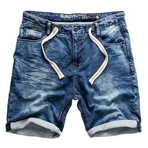 Sublevel Herren Jogg Shorts-H1324K60688KD11-1-30
