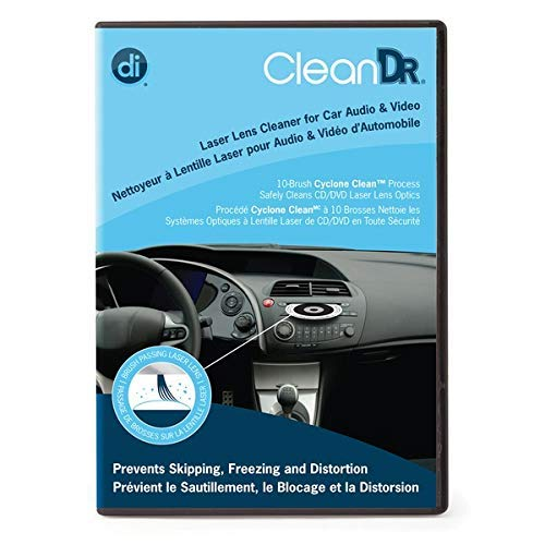 Digital Innovations CleanDr for Car Audio & Video Laser Lens Cleaner 4190500