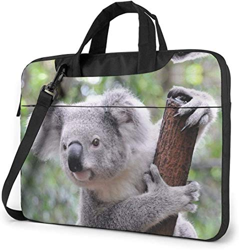 Cute Koala Bear Laptop Sleeve Bag Carrying Case with Handle and Adjustable Shoulder Strap Business Travel Bag
