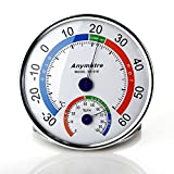 Higrómetro y Termómetro Mbuynow medidor de la temperatura y humedad para interior y exterior