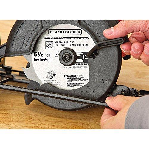 BLACK+DECKER 20V MAX 5-1/2-Inch Cordless Circular Saw, Tool Only (BDCCS20B),Medium