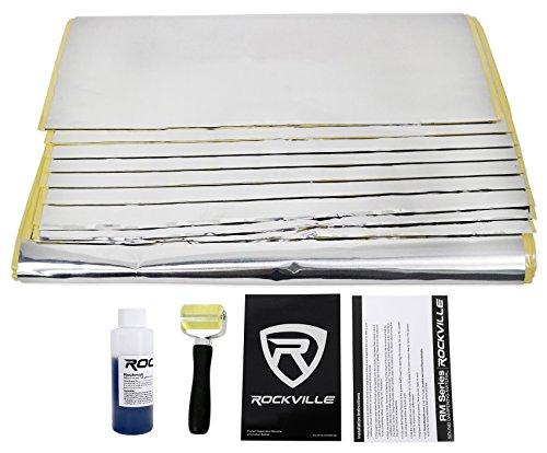 Rockville Rockmat RM36 36 Sq Ft Butyl Rubber Sound Dampening/Deadening Car Kit
