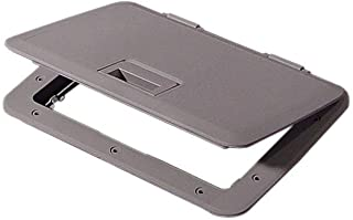 Tempress 11 x 15 Access Slam Boat Hatch Storage Lid Dark Gray
