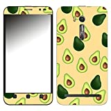 Disagu SF-107220_1123 Design Folie für Asus ZenFone Go TV (ZB551KL) - Motiv Avocados Muster orange