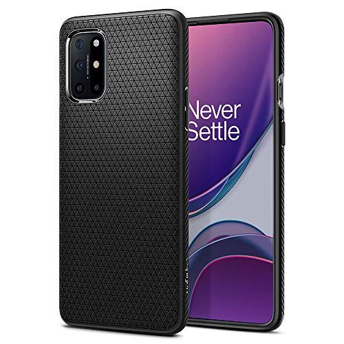Spigen Funda Liquid Air para Samsung OnePlus 8T - Negro