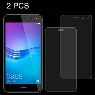 Good 2 PCS for Huawei Y6 (2017) 0.26mm 9H Surface Hardness 2.5D Explosion-proof Tempered Glass Non-full Screen Film Sunsshine