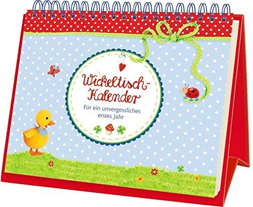 BabyGlück - Wickeltisch-Kalender: Für ein unvergessliches erstes Jahr