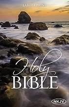 The NKJV, Holy Bible, Larger Print, Paperback: Holy Bible, New King James Version