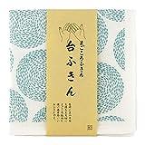 TRANPARAN まごころふきん 台ふきん 蚊帳生地 7枚重ね 奈良県産 日本製 (水しぶき)
