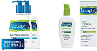 Daily Facial Cleanser and Hydrating Lotion
