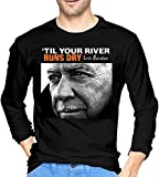 Photo de Men's Eric Burdon Til Your River Runs Dry Long Sleeve Tees Black,M