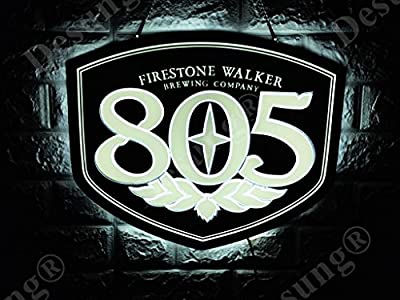 Desung Revolutionary Firestone-Walker Brewing 805 3D LED Neon Light Sign (Multiple Sizes Available) Vivid Printing Tech Design Decorate 3rd Generation LED Sign LE08