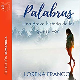 Palabras [Words] audiobook cover art