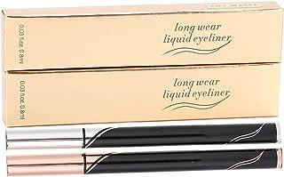 Eyeliner, 2pcs Liquid Eyeliner Waterproof Long‑Lasting Eyeliner Pen Quick Drying Eye Makeup