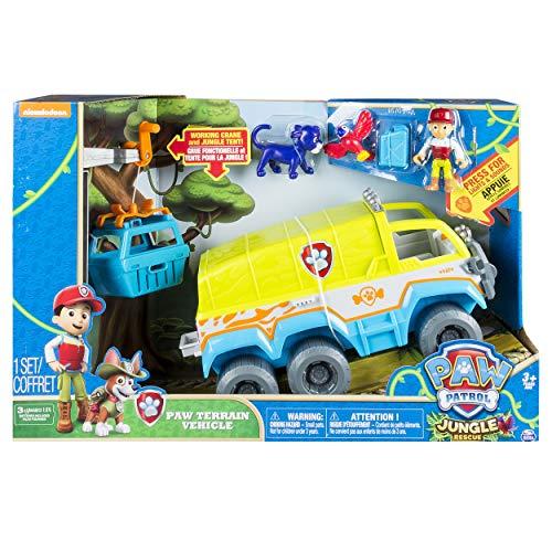 Paw Patrol- Jungle Rescue Veicolo Fuoristrada della Giungla, 6032668