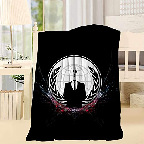 753 V f-o-r Vendetta Soft and Smooth Blanket,Suitable for Sofa,Sofa Bed,Office Travel,Camping Throw 40X50inch