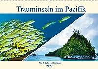 Mikronesien: Yap und Palau (Wandkalender 2022 DIN A2 quer): Trauminseln im Pazifischen Ozean (Monatskalender, 14 Seiten )