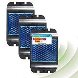 ISOTRONIC Deterrente per cinghiale | Distributore con LED blu contro cinghiali, cervi, procioni e volpi | Set di 3 | Protezione contro animali selvatici