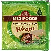 Mexifoods, Pane con harina integral envasado - 375 gr