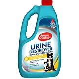 Simple Solution Pet Urine Destroyer | Enzymatic Cleaner with 2X Pro-Bacteria Cleaning Power | Targets Urine Stains and Odors | 1 Gallon