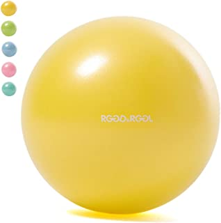 RGGD&RGGL 25㎝ ピラティスボール 厚いバランスボール アンチバーストヨガボール ミニサイズ ストレス解消 筋トレストレッチ バレートレーニング