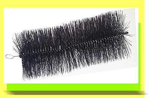 Osaga Filterbürste schwarz grob 15x50 cm lang Teichbürste für Teichfilter
