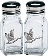 1pc, Pewter Canadian Goose Salt & Pepper Shakers